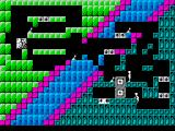 Quadrax ZX Spectrum level 33 - two blocks joined together will disappear