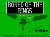 Bored of the Rings ZX Spectrum Loading screen
