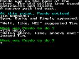 Bored of the Rings ZX Spectrum Character communication