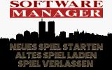 Software Manager DOS Title screen