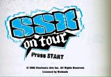 SSX on Tour GameCube Title screen