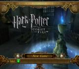 Harry Potter and the Goblet of Fire GameCube Title screen and main menu