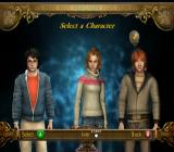 Harry Potter and the Goblet of Fire GameCube Choose a character for the next mission.