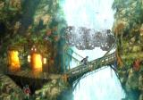 Baten Kaitos: Eternal Wings and the Lost Ocean GameCube This town has a nice waterfall...