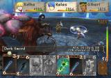 Baten Kaitos: Eternal Wings and the Lost Ocean GameCube Battling a large opponent!