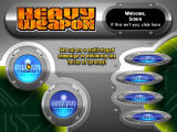 Heavy Weapon Deluxe Windows Main game screen