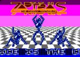 Zap't'Balls: The Advanced Edition Amstrad CPC The title screen
