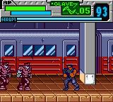 Blade Game Boy Color Blade takes on two zombies with a military/retro fashion sense
