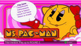 Ms. Pac-Man Xbox 360 Main menu
