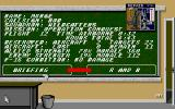 F-16 Combat Pilot Amiga The status of the current campaign.
