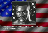 "Evander Holyfield's ""Real Deal"" Boxing Genesis Holyfield appears from times to times to compliment you... until you get close to his position, when he starts threatening you."