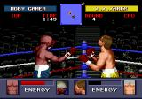"Evander Holyfield's ""Real Deal"" Boxing Genesis When the grey bar grows below the fighter's eye line, he'll start bleeding."