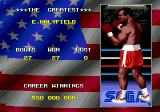 "Evander Holyfield's ""Real Deal"" Boxing Genesis Beating Holyfield isn't enough. You have to beat his score to be ""the greatest"" fighter."