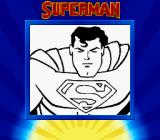 Superman Game Boy Title screen