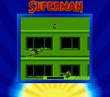 Superman Game Boy Superman has to avoid the hovering grenade.