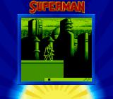 Superman Game Boy About to take off for a flying level.