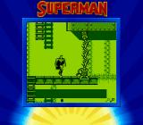 Superman Game Boy Even Superman has to be careful around walls of electric death.