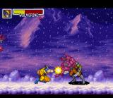 Marvel Super Heroes in War of the Gems SNES Wolverine with the claw-rush