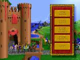 Heroes of Might and Magic DOS Main menu