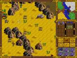 Heroes of Might and Magic DOS Desert