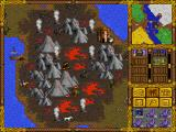 Heroes of Might and Magic DOS Lava and volcanos