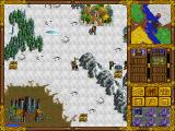 Heroes of Might and Magic DOS Snow