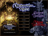 Neverwinter Nights: Platinum Windows Main Menu