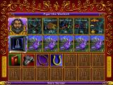 Heroes of Might and Magic DOS Hero screen