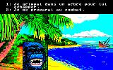Robinson Crusoe Amstrad CPC A horrible beast appears