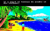 Robinson Crusoe Amstrad CPC Back with some gunpowder