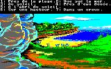 Robinson Crusoe Amstrad CPC Select a location for your camp