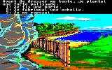 Robinson Crusoe Amstrad CPC Building a palissade, what now?