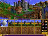 Heroes of Might and Magic DOS Knight's castle