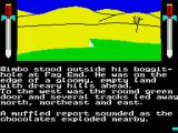 The Boggit: Bored Too ZX Spectrum The plains are especially plain here