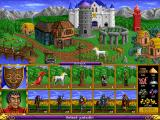 Heroes of Might and Magic DOS Sorceres castle
