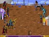 Heroes of Might and Magic DOS Combat on ship