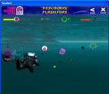 Tek-Kids Flash-Ops: Mission: Aqua Zone Windows Gameplay showing close-up with a shark.