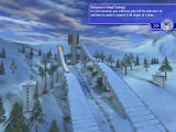 Ski Jumping 2004 Windows Tutorial screen explaining what ski jumping is all about
