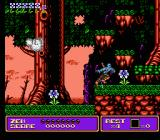 Zen: Intergalactic Ninja NES Revive acid-soaked flowers in the forest