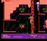 Zen: Intergalactic Ninja NES In the forest, taking on one of the acid rain machines that can also shoot lightning