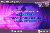 Aggressive Inline Game Boy Advance Menu screen.