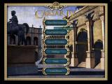 Caesar IV Windows Main menu