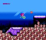 Disney's The Little Mermaid NES I have an enemy trapped inside a bubble