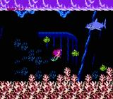 Disney's The Little Mermaid NES The first boss is a shark, and the fish are perfect for throwing at him