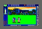 Knight Games Amstrad CPC Swordfighting 2 - got a move in here