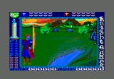 Knight Games Amstrad CPC Archery - watch the pattern at the top