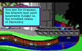 Roberta Williams' King's Quest I: Quest for the Crown DOS Introduction