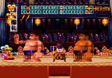 Keio Flying Squadron 2 SEGA Saturn Rami in the sumo wrestling ring