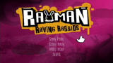 Rayman Raving Rabbids Wii Title screen
