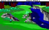 Roberta Williams' King's Quest I: Quest for the Crown DOS Walking
